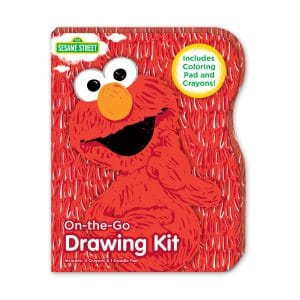 Sesame Street Elmo On-the-Go Drawing Kit