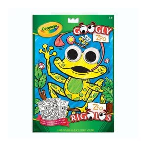 Crayola Googly Zoo Colouring Pad
