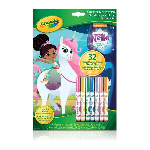 Crayola Nella The Princess Knight Colouring & Activity Pad