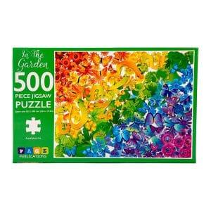 In the Garden 500 Piece Jigsaw Puzzle