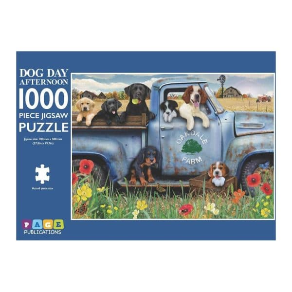 Dog Day Afternoon 1000 Piece Jigsaw Puzzle