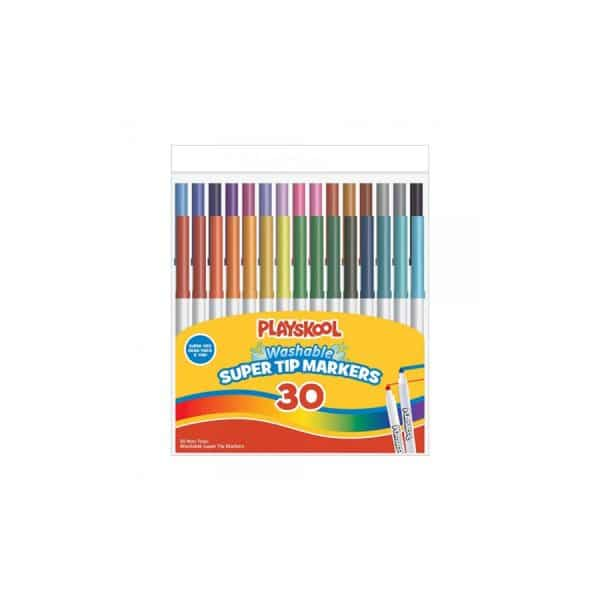 Playskool Washable Super Tip Markers 30 Count