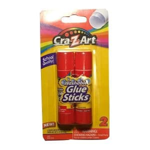 Glue Sticks Washable (2 Count)
