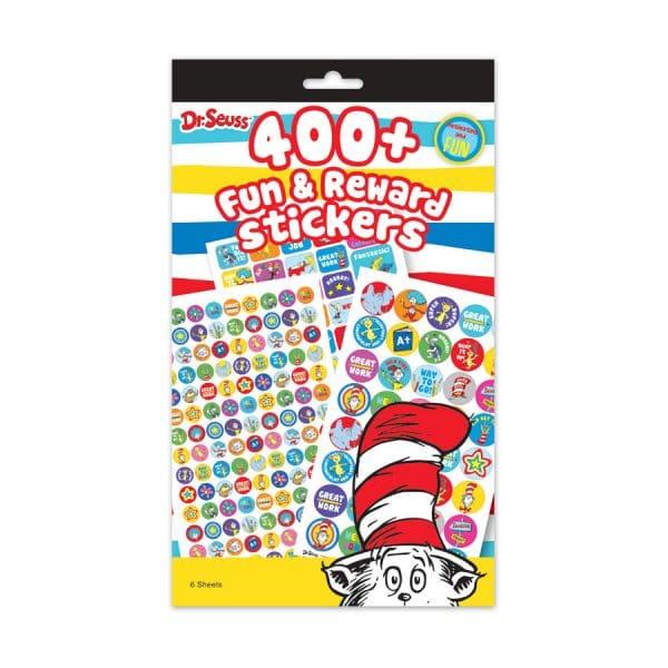 Dr.Seuss 400+ Fun & Reward Sticker Pad