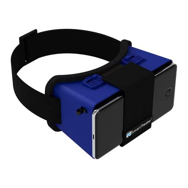 SmartTheater VR Goggles with Case - BLUE