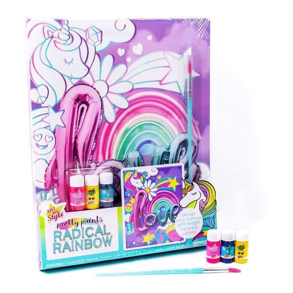 Just My Style Radical Rainbow Canvas