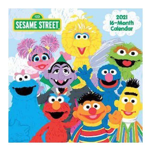 Sesame Street 2021 Wall Calendar