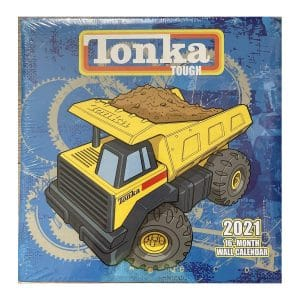 Tonka Tough 2021 Wall Calendar