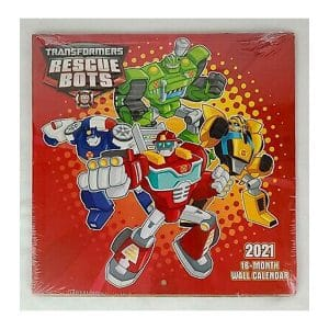 Transformers Rescue Bots 2021 Wall Calendar
