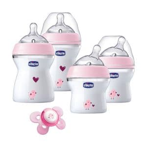 Chicco NaturalFit Newborn Gift Set -PINK