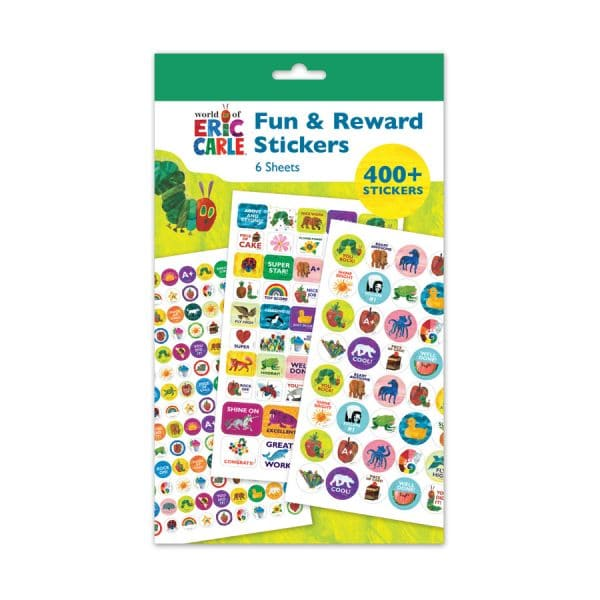Eric Carle 400+ Fun & Reward Sticker Pad