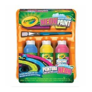 Crayola Neon Washable Sidewalk Paint