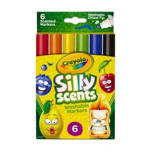 Crayola Silly Scents (6 count) Washable Markers