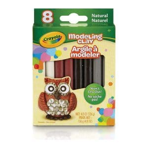 Crayola Modeling Clay (8 count) Natural