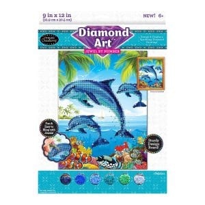 Diamond Art Jewel By Number Dolphin