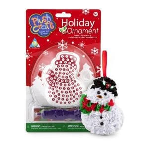 Holiday Ornament Fabric by Number: Snowman