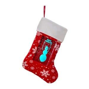 Light Up Holiday Stocking - Snowman