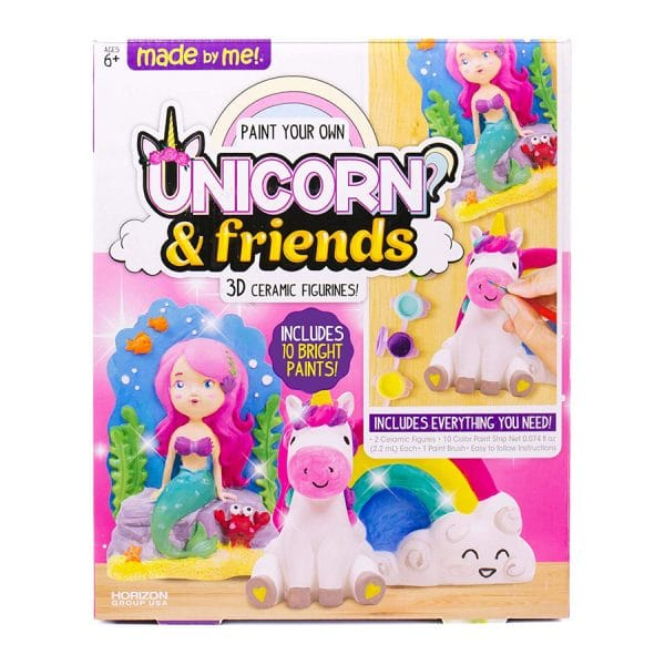 Unicorn & Friends 3D Ceramic Figures