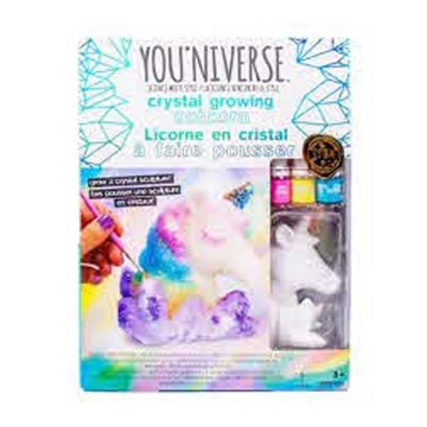 Youniverse Crystal Growing Unicorn Set