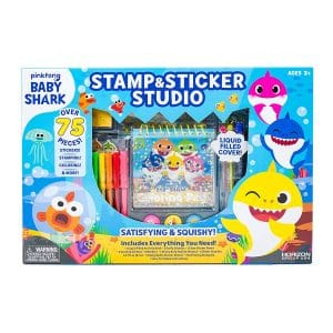 Baby Shark Stamp & Sticker Studio