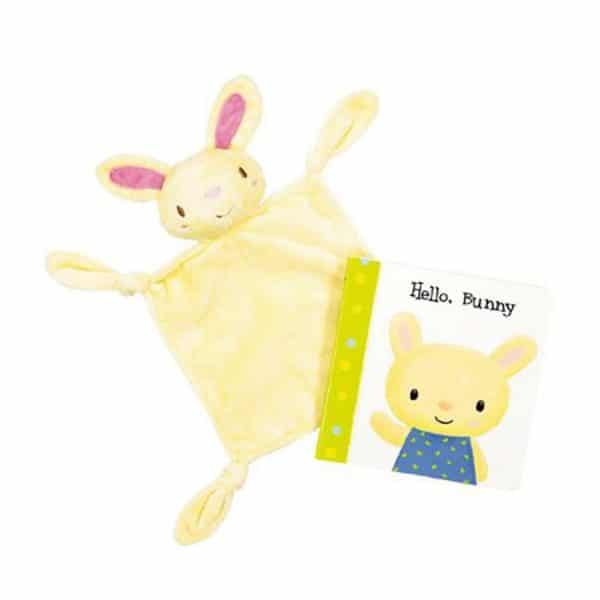 Hello, Bunny Cuddly Book Set