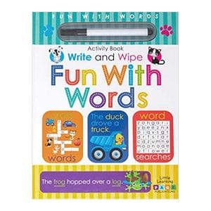 Fun With Words Write and Wipe