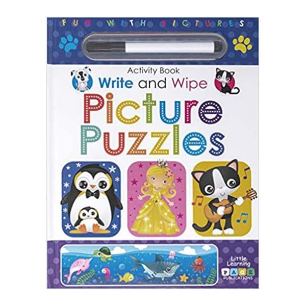 Picture Puzzles Write and Wipe