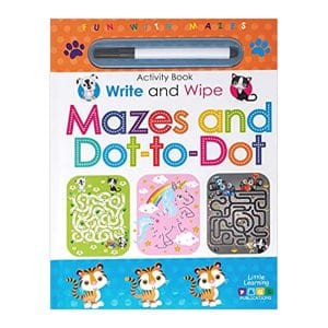 Mazes and Dot-to-Dot Write and Wipe