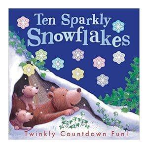 Ten Sparkly Snowflakes Paperback