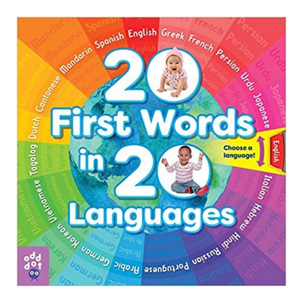 20 First Words in 20 Languages Board book
