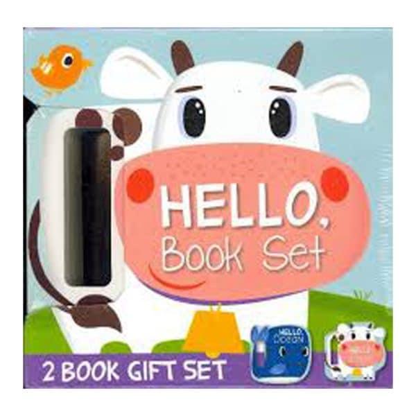 HELLO Book Set (2 Book Gift Set - Ocean, Farm)