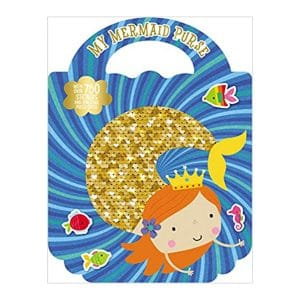 My Mermaid Purse with Over 750 Stickers Paperback