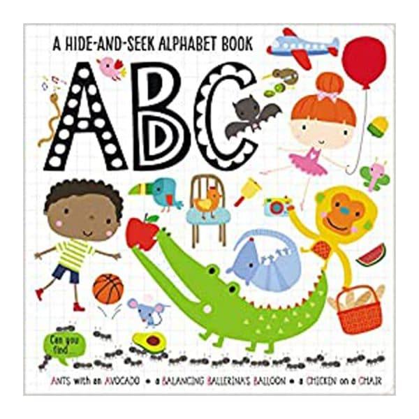 ABC (A Hide and Seek Alphabet Book) Board book