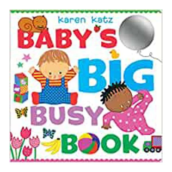 Baby's Big Busy Book Board Book