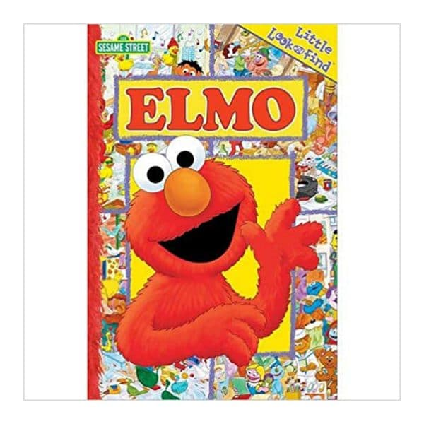 Sesame Street Little Look and Find Elmo