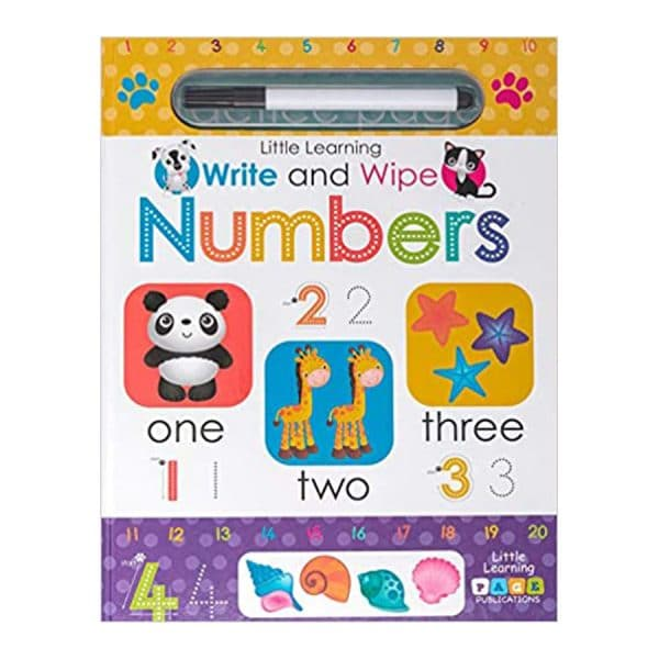 Numbers Write and Wipe