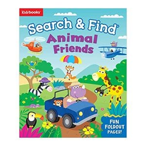 Search & Find: Animal Friends Board Book
