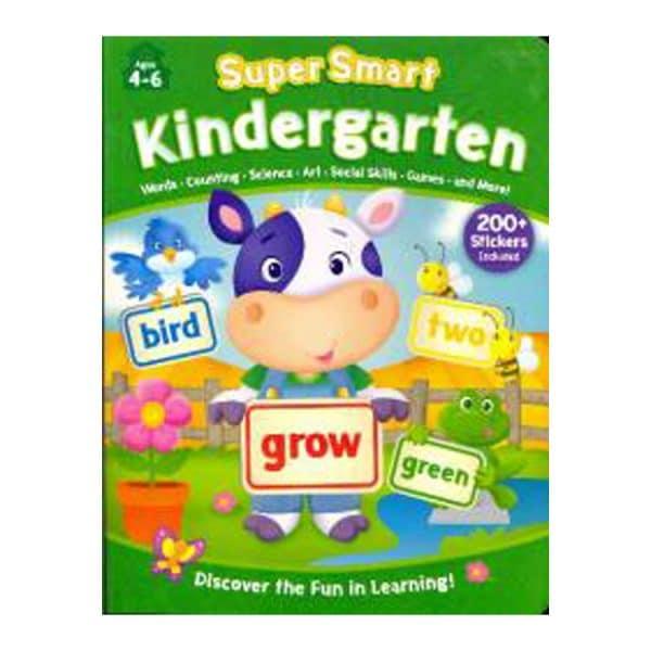 Kindergarten Workbook with Stickers (Super Smart: Ages 4-6)