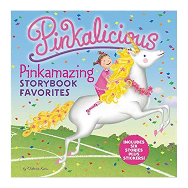 Pinkalicious: Pinkamazing Storybook Favorites: Includes 6 Stories Plus Stickers! Hardcover
