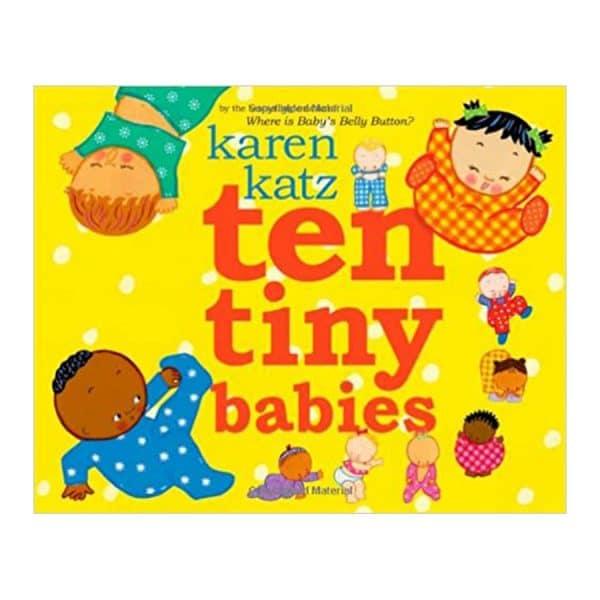 Ten Tiny Babies Hardcover
