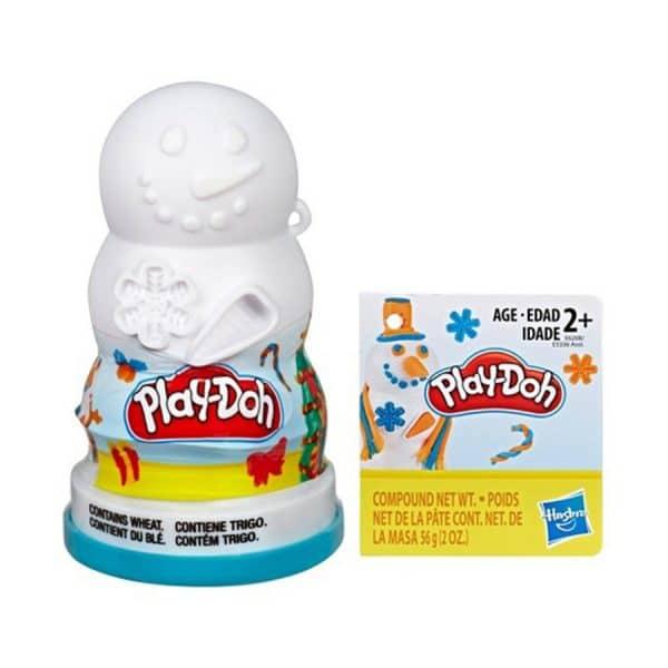 Play-Doh Snowman