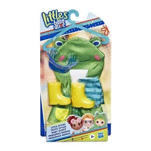 Littles by Baby Alive Little Styles Puddles in The Park Outfit