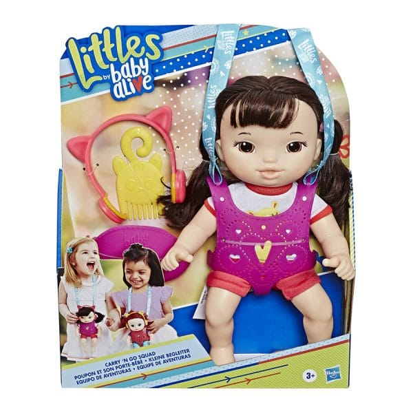 Littles by Baby Alive, Carry 'n Go Squad Iris Doll