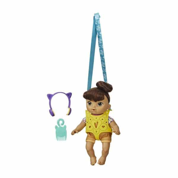 Littles by Baby Alive, Carry 'n Go Squad Nadia Doll