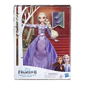 Disney Frozen 2 Arendelle Elsa Deluxe Fashion Doll