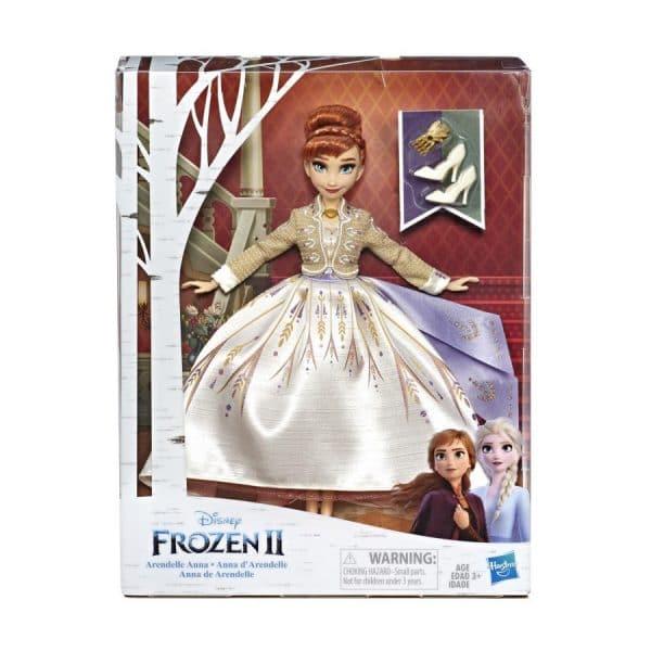 Disney Frozen 2 Arendelle Anna Deluxe Fashion Doll