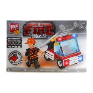 Block Tech Fire Dept. Fire Response (43 Piece) Set