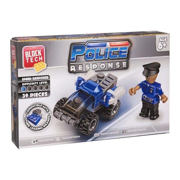 Block Tech Police Response Speed Response (39 Piece) Set