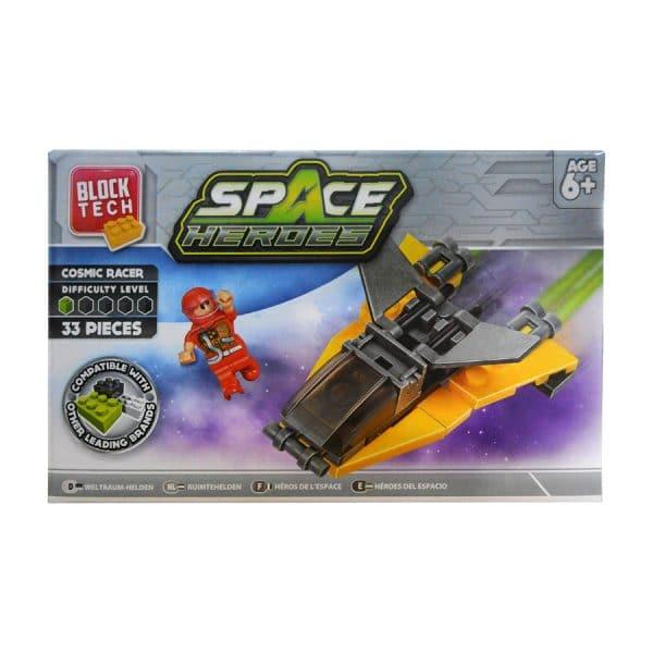 Block Tech Space Heroes Cosmic Racer (33 Piece) Set