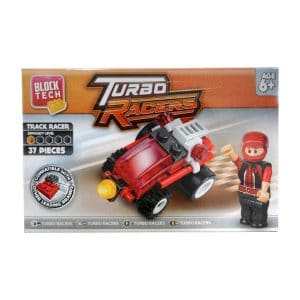 Block Tech Turbo Racers Track Racer (37 Piece) Set